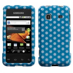 Samsung Galaxy Prevail Dots(Blue/white) Case