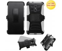 Black/Gray Advanced Armor Stand Protector Cover (with Black Holster)