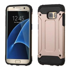 Samsung Galaxy S7 Edge Rose Gold/Black Astronoot Case