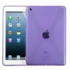 AppleiPad Mini 3rd Gen Purple (X Shape) Candy Skin Cover