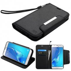 Samsung Galaxy J7 Black Wallet