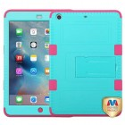 AppleiPad Mini 3rd Gen Natural Teal Green/Electric Pink Hybrid Case