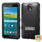 Samsung Galaxy Mega 2 Natural Black/Black Hybrid Phone Protector Cover (with Stand)