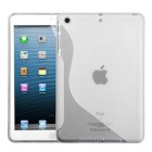AppleiPad Mini 3rd Gen Transparent Clear (S Shape) Candy Skin Cover