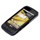 LG Optimus S Bluetooth WiFi 3G Android PDA BLACK Phone Sprint