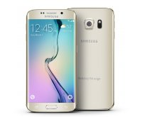 Samsung Galaxy S6 Edge 64GB G925A Android Smartphone - Unlocked GSM - Platinum Gold