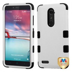 ZTE Grand X Max 2 Natural Gray/Black Hybrid Case