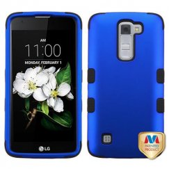 LG K7 Titanium Dark Blue/Black Hybrid Case