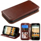 Huawei Union Y538 Brown Wallet with Tray