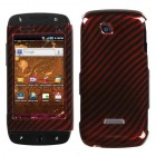 Samsung Sidekick 4G Racing Fiber/Red (2D Silver) Phone Protector Cover