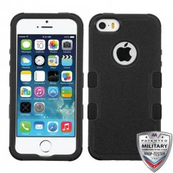 Apple iPhone 5s Natural Black/Black Hybrid Case