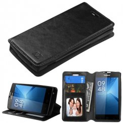Coolpad Rogue Black Wallet with Tray