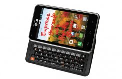 LG Mach LS860 Android QWERTY Smartphone for Sprint - Black