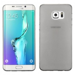 Samsung Galaxy S6 Edge Plus Glossy Transparent Smoke Candy Skin Cover