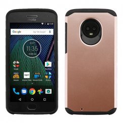 Motorola Moto G6 Rose Gold/Black Astronoot Phone Case