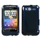 HTC Wildfire S Racing Fiber/Blue 2D Silver Case