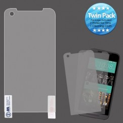 HTC Desire 520 Screen Protector Twin Pack