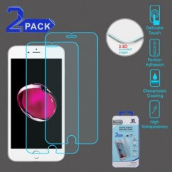 Apple iPhone 7 Plus Tempered Glass Screen Protector - 2-pack