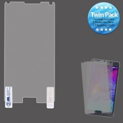 Samsung Galaxy Note 4 Screen Protector Twin Pack