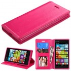 Nokia Lumia 735 Hot Pink Wallet with Tray