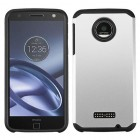 Motorola Moto Z Force Silver/Black Astronoot Phone Protector Cover