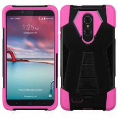 ZTE Grand X Max 2 Hot Pink Inverse Advanced Armor Stand Case