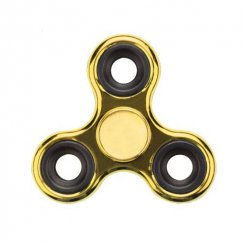 Gold Plating Triangle Spinner