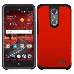 ZTE Grand X 4 Red/Black Astronoot Phone Protector Cover