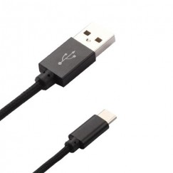 Black USB Type-C Data Cable 5 Feet
