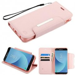 Samsung Galaxy J7 Rose Gold Wallet -WP