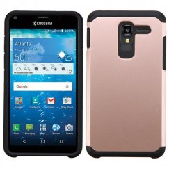 Kyocera Hydro Reach / Hydro View Rose Gold/Black Astronoot Case