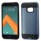 HTC 10 Ink Blue/Black Brushed Hybrid Protector Cover