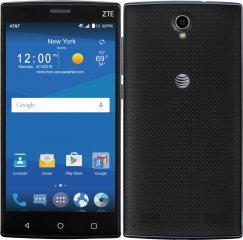 ZTE ZMAX 2 Z958 16GB Android Smartphone for AT&T Wireless - Black