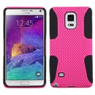 Samsung Galaxy Note 4 Hot Pink/Black Astronoot Case