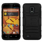 ZTE Warp 4G Black/Black Advanced Armor Stand Case