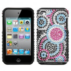 Apple iPod Touch (4th Generation) Bubble Diamante Fusion Case