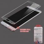 Samsung Galaxy Note 7 Full Coverage Tempered Glass Screen Protector/Silver
