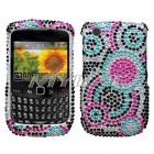 Blackberry 9300 Curve Bubble Diamante Protector Cover