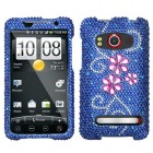HTC EVO 4G Juicy Flower Diamante Protector Cover