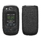 Samsung Convoy 2 SCH-U660 Black Diamante Case