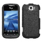 HTC myTouch 4G Slide Black Diamante Protector Cover(Diamante 2.0)