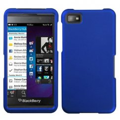 Blackberry Z10 Titanium Solid Dark Blue Case