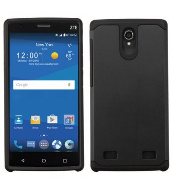 ZTE ZMAX 2 Black/Black Astronoot Phone Protector Cover