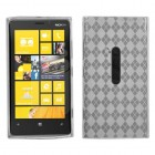 Nokia Lumia 920 T-Clear Argyle Candy Skin Cover