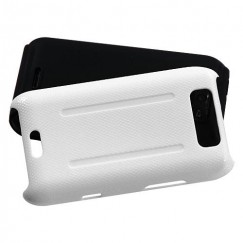 LG Viper Solid Ivory White/Black Fusion Case