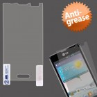 LG Optimus F3 Anti-grease LCD Screen Protector/Clear