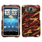 HTC Inspire 4G Camo/Yellow Phone Protector Cover