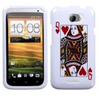 HTC One X Queen of Hearts Phone Protector Cover