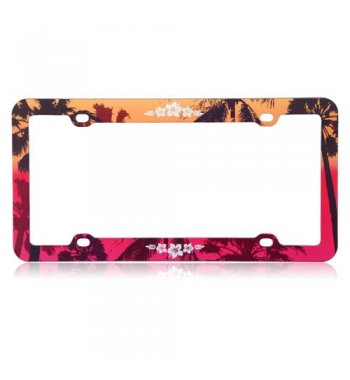 Hawaiian Sunset Plastic Frame