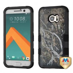 HTC 10 Yellow/Black Vine/Black Hybrid Case